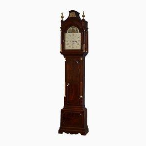 Horloge de Parterre George III Antique par Robert Wood de London, 1795
