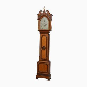 Horloge de Parquet Georgienne Antique par John Scott of Edinburgh, 1800s