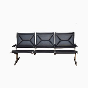 Eames Tandem System Bench by Charles & Ray Eames for Vitra, 1980s