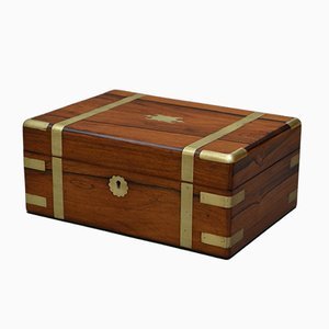 Antique Victorian Rosewood Jewellery Box, 1860s