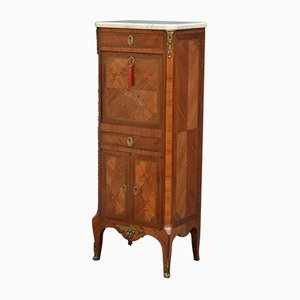 Antique Continental Inlaid Secretaire, 1890s