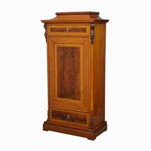 Antique Continental Mahogany Side Cabinet