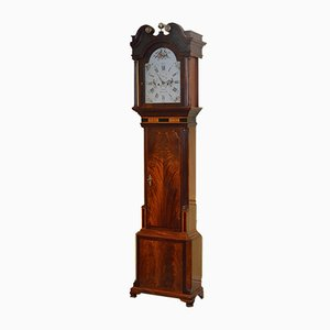 Horloge Longue Georgienne Antique de G. Monks
