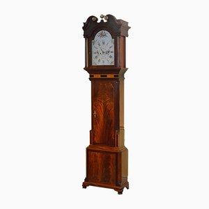 Reloj georgiano antiguo de G. Monks