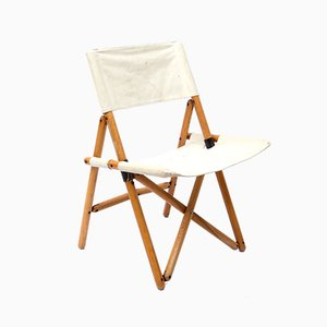 Navy Folding Chair by Sergio Asti for Zanotta, 1960s