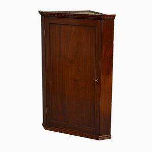 Antique Georgian Drinks Cabinet or Corner Cupboard