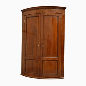 Antique George III Corner Cupboard