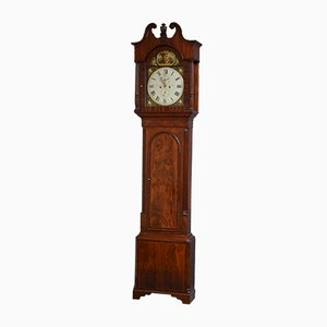 Antique Regency Longcase Clock from W. Preston