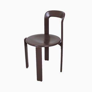Chaise d'Appoint Empilable Vintage par Bruno Rey pour Dietiker, Suisse, 1970s