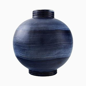 Round Art Deco Vase by Ilse Claesson for Rörstrand, 1930s