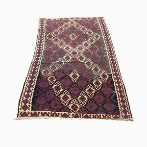 Large Vintage Turkish Wool Rug, 1950s