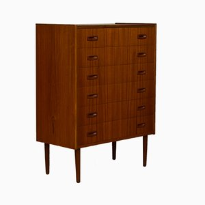 Vintage Teak Chest of Drawers, 1960s