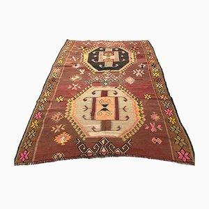 Großer türkischer Vintage Teppich, 1940er