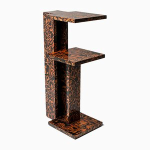 Tavolino postmoderno di André Sornay, anni '80