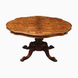 Antiker viktorianischer Tisch aus Nussholz
