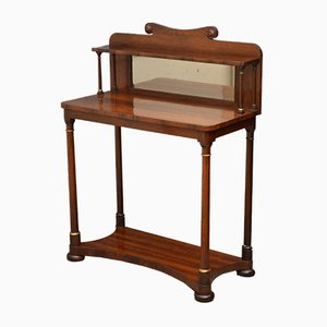 Antique Regency Rosewood Console Table