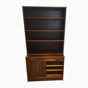 Vintage 2-Piece Rosewood Bookcase