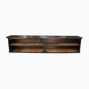Antikes industrielles Sideboard aus Metall, 1900er