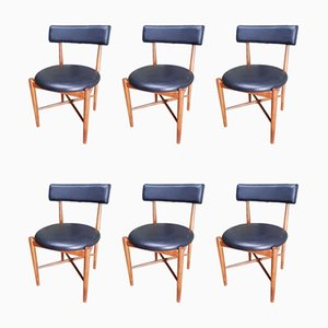 Vintage Dining Chairs by Victor Wilkins from G-Plan, Set of 6