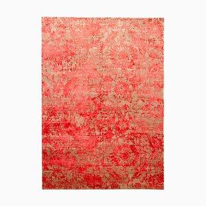 Vintage Tibetan Carpet, 1980s