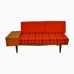 Sofá cama Ekornes escandinavo de Ingmar Relling para Svane, años 60