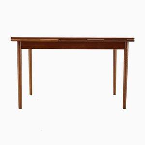Mesa extensible danesa de teca, años 60