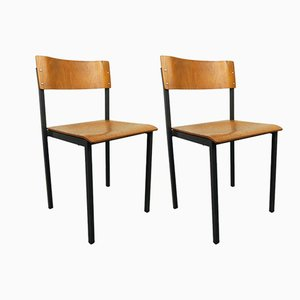 German Side Chairs, 1960s, Set of 2
