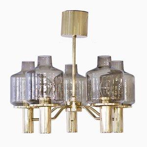 Lámpara de araña T507 Prior de Hans-Agne Jakobsson para Markaryd, años 60