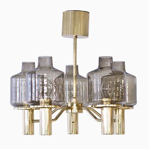 Swedish T507 Prior Chandelier by Hans-Agne Jakobsson for Markaryd, 1960s