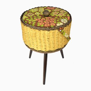 Mid-Century German Storage Basket, 1950s