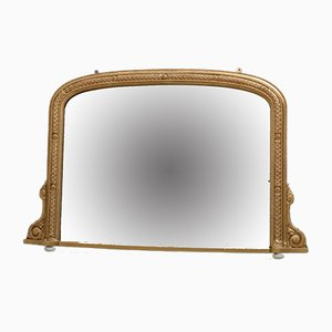 Antique Victorian Giltwood Wall Mirror