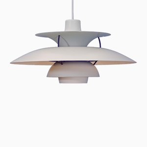 White PH5 Pendant Lamp by Poul Henningsen for Louis Poulsen, 1970s