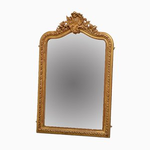Antique French Gilded Wall Mirror