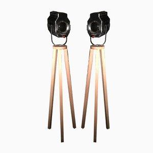Industrielle Projektoren von Dab, 1950er, 2er Set