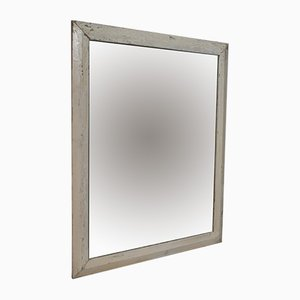 Antique English Pitch Pine Wall Mirror, 1880s