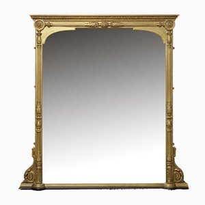 Large Victorian Giltwood Wall Mirror