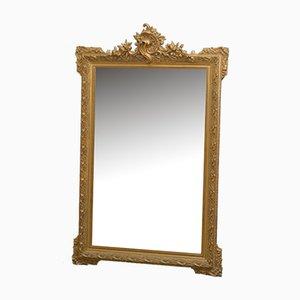 Specchio decorativo antico dorato