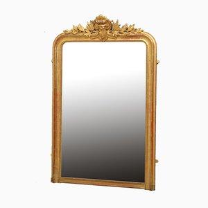 Antiker französischer vergoldeter Spiegel