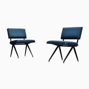Industrial Easy Chairs by Ynske Kooistra for Marko, 1960s, Set of 2
