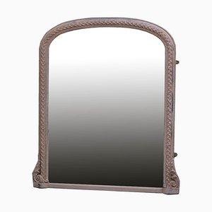 Lackierter Wandspiegel, spätes 19. Jh
