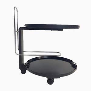Vintage Bar Service Cart by Waldemar Rothe for Rosenthal, 1980s