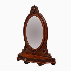 Viktorianischer Toilettenspiegel aus Mahagoni