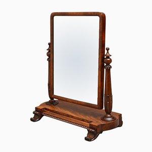 Miroir de Coiffeuse Style William IV Antique en Acajou