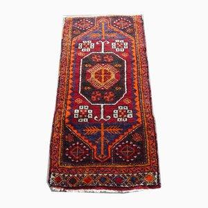 Türkischer Vintage Yastik Teppich, 1970er
