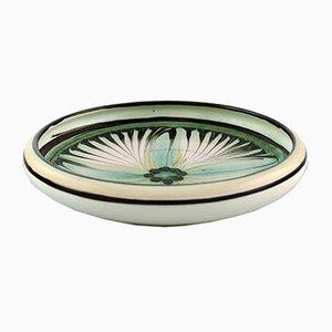 Glasierte Vintage Keramikschale von Kähler