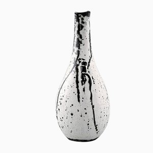 Vaso vintage in gres di Svend Hammershøi per Kähler, Danimarca, anni '30