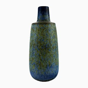 Vaso grande in ceramica smaltata di Carl-Harry Stålhane per Rörstrand, anni '60