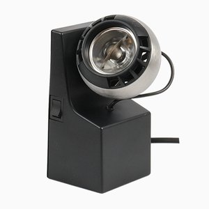 Black Minispot Lamp by Dieter Witte for Osram, 1980s
