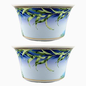 Vintage Jungle Bowls by Gianni Versace for Rosenthal, Set of 2