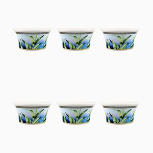 Vintage Jungle Bowls by Gianni Versace for Rosenthal, Set of 6